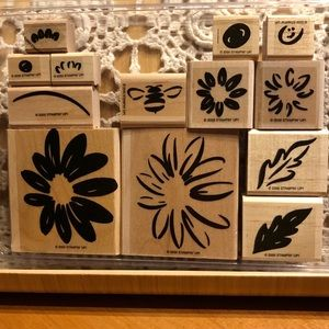 🍒 Stampin' Up! 🍒 « Daisy » Stamps Set